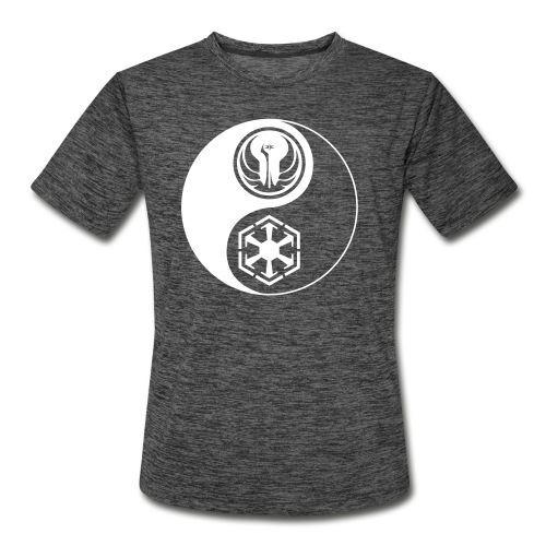 Star Wars SWTOR Yin Yang 1-Color Light - Men's Moisture Wicking Performance T-Shirt