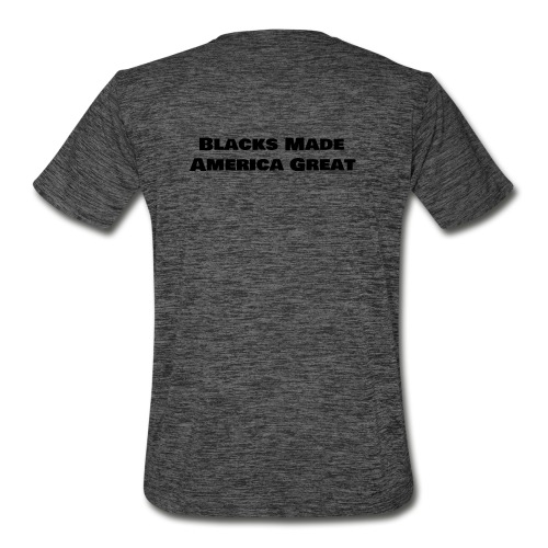 (blacks_made_america) - Men's Moisture Wicking Performance T-Shirt