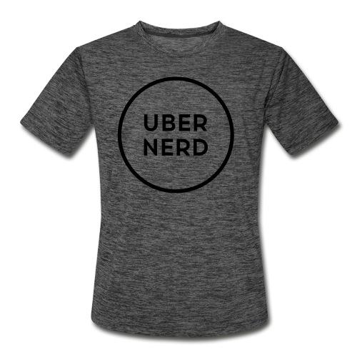 uber nerd logo - Men's Moisture Wicking Performance T-Shirt