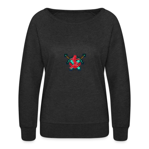 anchor and swords - Women's Crewneck Sweatshirt