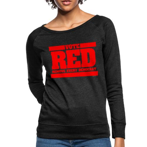 Remove every Democrat - Women's Crewneck Sweatshirt