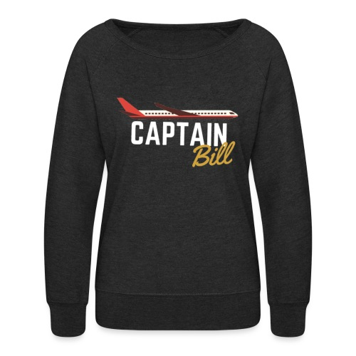 Captain Bill Avaition products - Women's Crewneck Sweatshirt