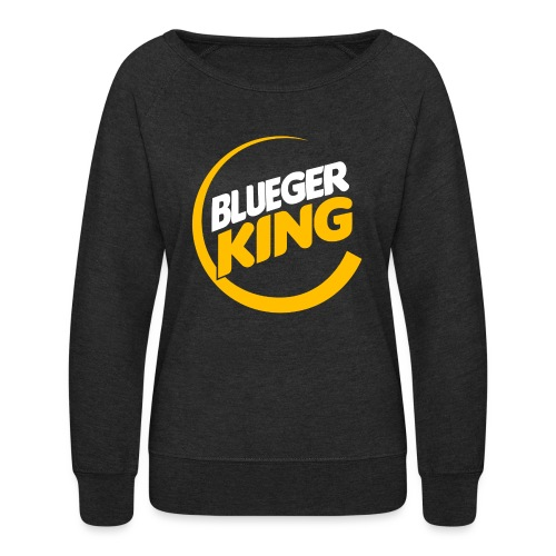 Blueger King - Women's Crewneck Sweatshirt