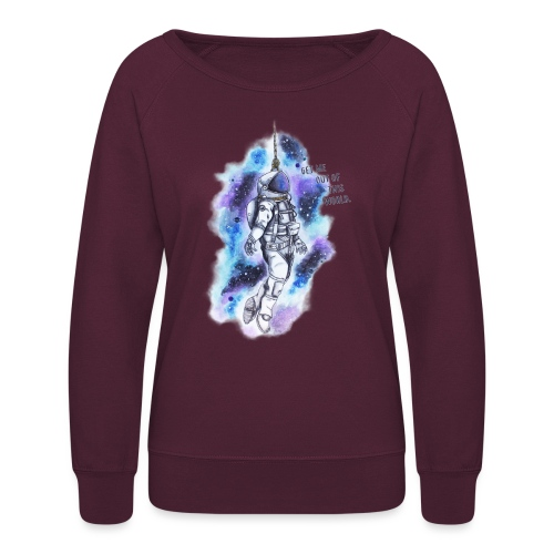Get Me Out Of This World - Women's Crewneck Sweatshirt