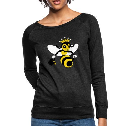 Queen Bee - Women's Crewneck Sweatshirt