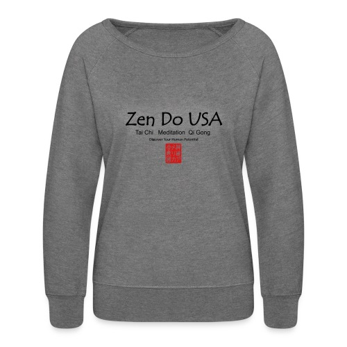 Zen Do USA - Women's Crewneck Sweatshirt