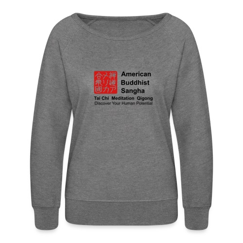 American Buddhist Sangha / Zen Do USA - Women's Crewneck Sweatshirt