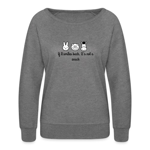 SMILE BACK - Women's Crewneck Sweatshirt