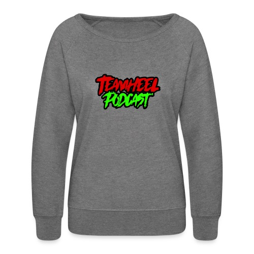 TEAMHEEL Podcast RedNGreen - Women's Crewneck Sweatshirt