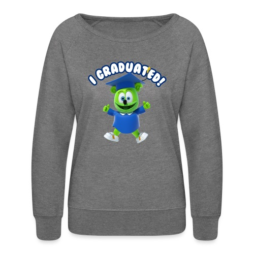 I Graduated! Gummibar (The Gummy Bear) - Women's Crewneck Sweatshirt