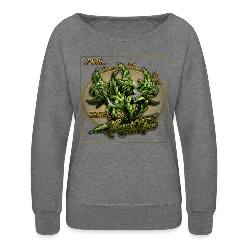 See No Bud by RollinLow - Women's Crewneck Sweatshirt