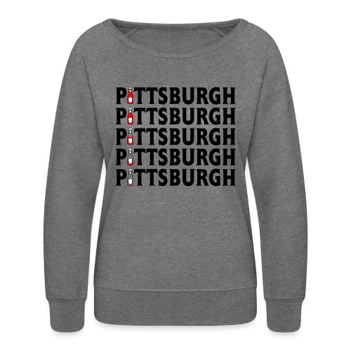 Pittsburgh (Ketchup) - Women's Crewneck Sweatshirt