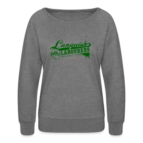 Languish Labourer's Baseball - Women's Crewneck Sweatshirt