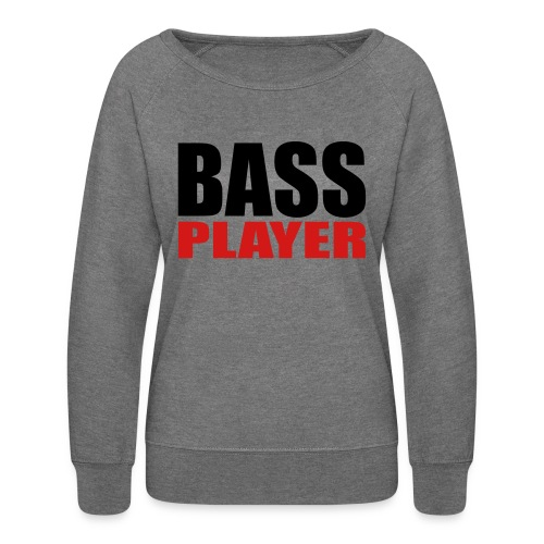 Bass Player - Women's Crewneck Sweatshirt