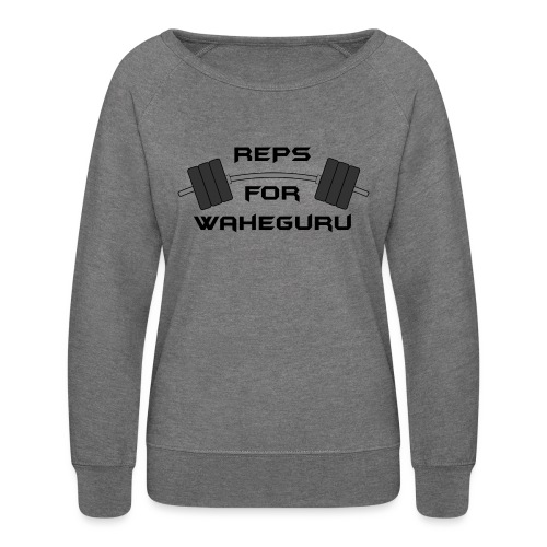 REPS FOR WAHEGURU - Women's Crewneck Sweatshirt