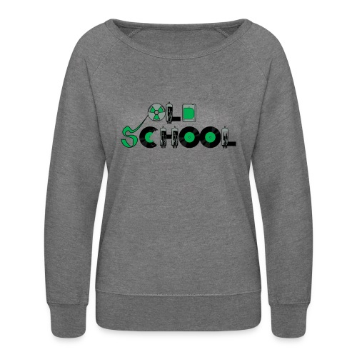 Old School Music - Women's Crewneck Sweatshirt