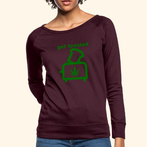 GET TOASTED - Women's Crewneck Sweatshirt