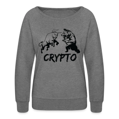 CryptoBattle Black - Women's Crewneck Sweatshirt