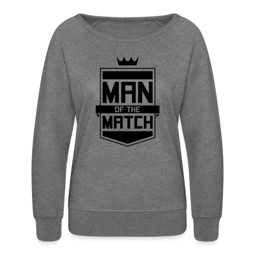 Man of the Match - Women's Crewneck Sweatshirt