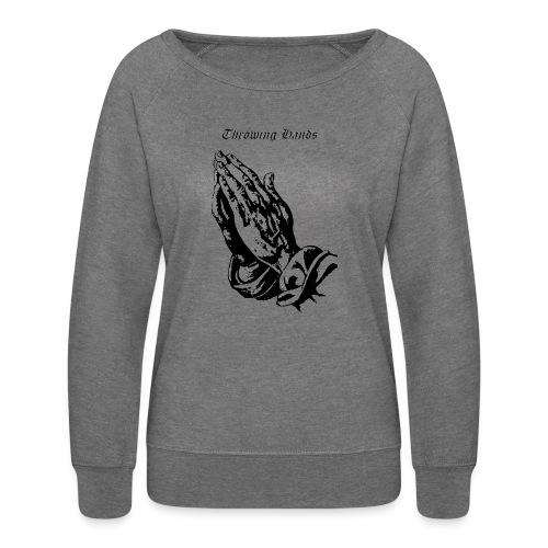throwinghands - Women's Crewneck Sweatshirt