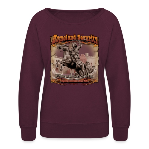 Homeland Security by RollinLow - Women's Crewneck Sweatshirt