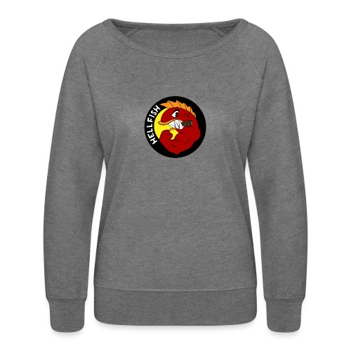 Hellfish - Flying Hellfish - Women's Crewneck Sweatshirt