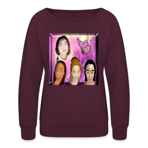 (family_first_revised) - Women's Crewneck Sweatshirt