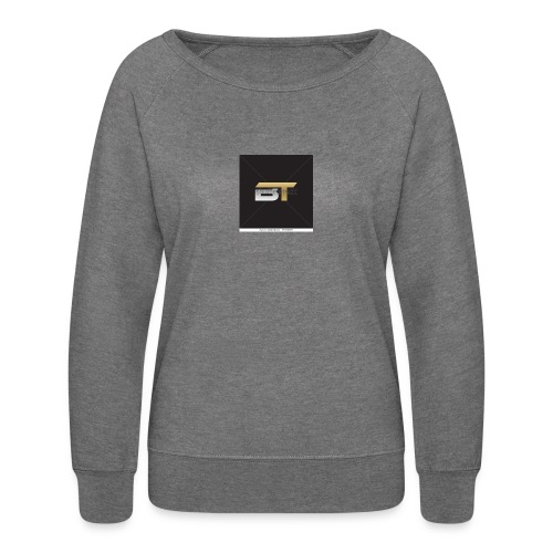 BT logo golden - Women's Crewneck Sweatshirt