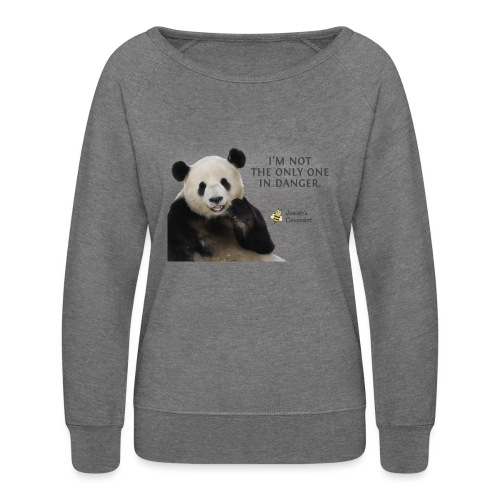 Endangered Pandas - Josiah's Covenant - Women's Crewneck Sweatshirt