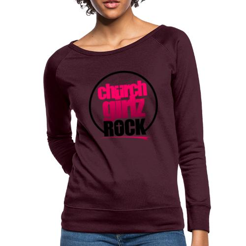 church girlz rock - Women's Crewneck Sweatshirt