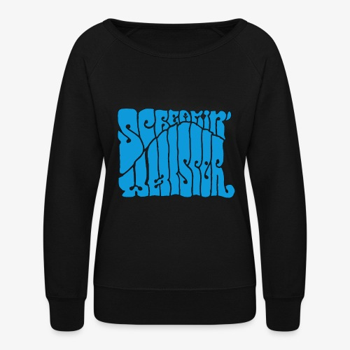 Screamin' Whisper Retro Logo - Women's Crewneck Sweatshirt