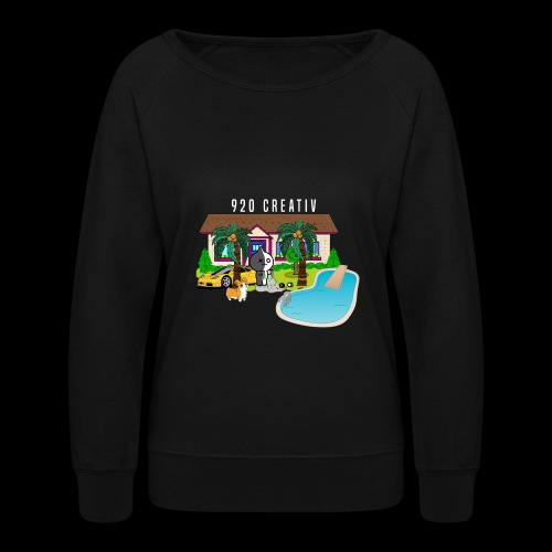920 Collectiv HOUSE design - Women's Crewneck Sweatshirt