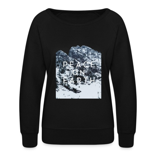 PEACE ON EARTH - Women's Crewneck Sweatshirt