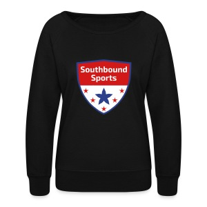 Southbound Sports Crest Logo - Women's Crewneck Sweatshirt