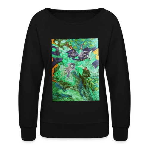 NightLab1 - Women's Crewneck Sweatshirt