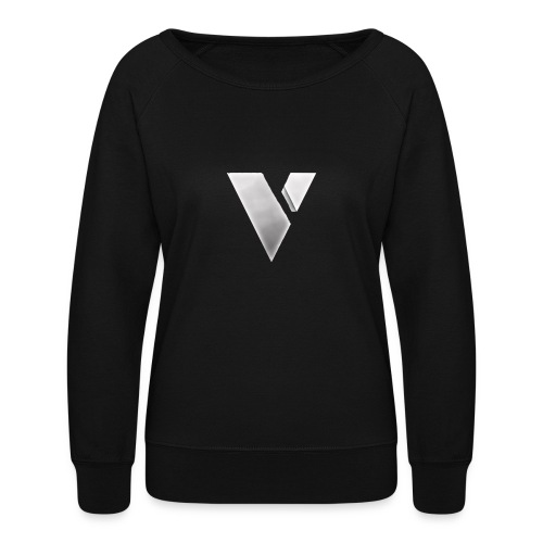 virtual merch logo - Women's Crewneck Sweatshirt