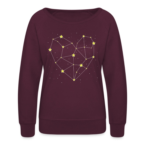 Heart in the Stars - Women's Crewneck Sweatshirt