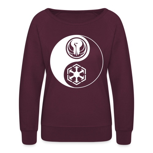 Star Wars SWTOR Yin Yang 1-Color Light - Women's Crewneck Sweatshirt