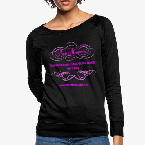 Those Memories logo - Women's Crewneck Sweatshirt