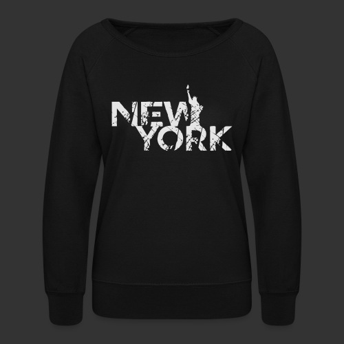 New York (Flexi Print) - Women's Crewneck Sweatshirt