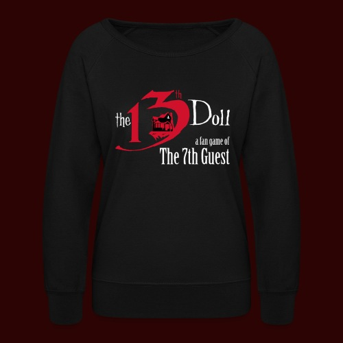 The 13th Doll Logo - Women's Crewneck Sweatshirt
