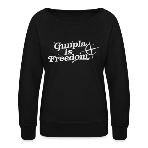 Freedom Men's T-shirt — Banshee Black - Women's Crewneck Sweatshirt
