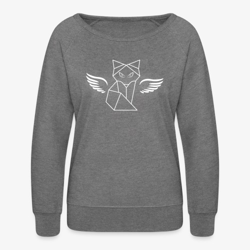 Winged Wolf - Women's Crewneck Sweatshirt