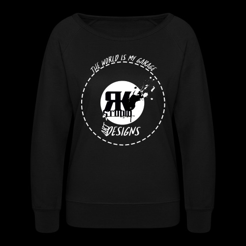 The World is My Garage - Women's Crewneck Sweatshirt
