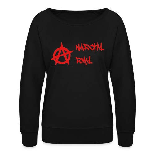 Anarchy Army LOGO - Women's Crewneck Sweatshirt