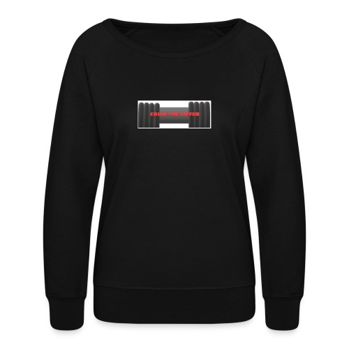 colin the lifter - Women's Crewneck Sweatshirt