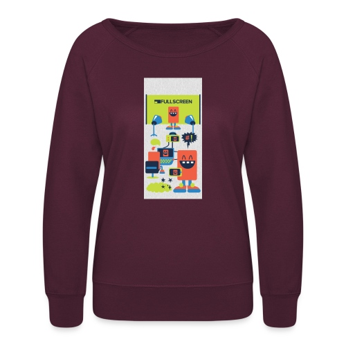 iphone5screenbots - Women's Crewneck Sweatshirt