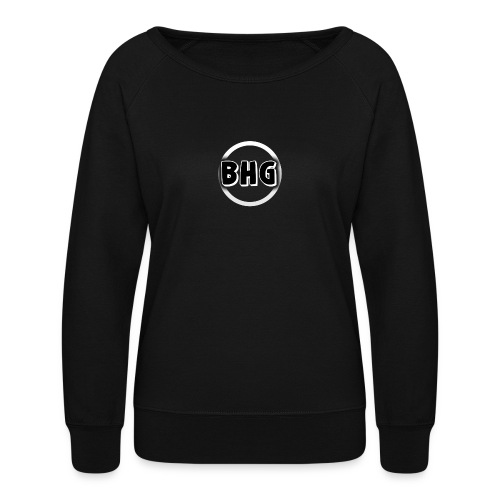 My YouTube logo with a transparent background - Women's Crewneck Sweatshirt