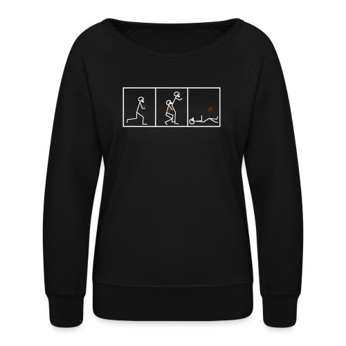 BUTTFUMBLE 6 (With Cartoon) - Women's Crewneck Sweatshirt