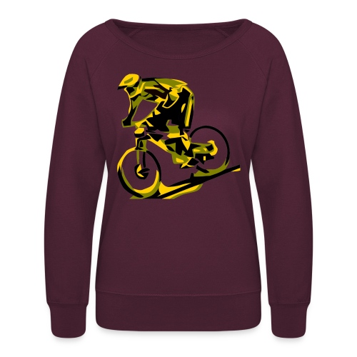 DH Freak - Mountain Bike Hoodie - Women's Crewneck Sweatshirt